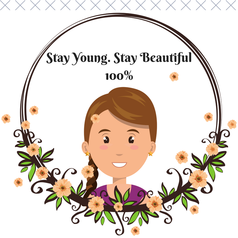 Stay Young. Stay Beautiful100%