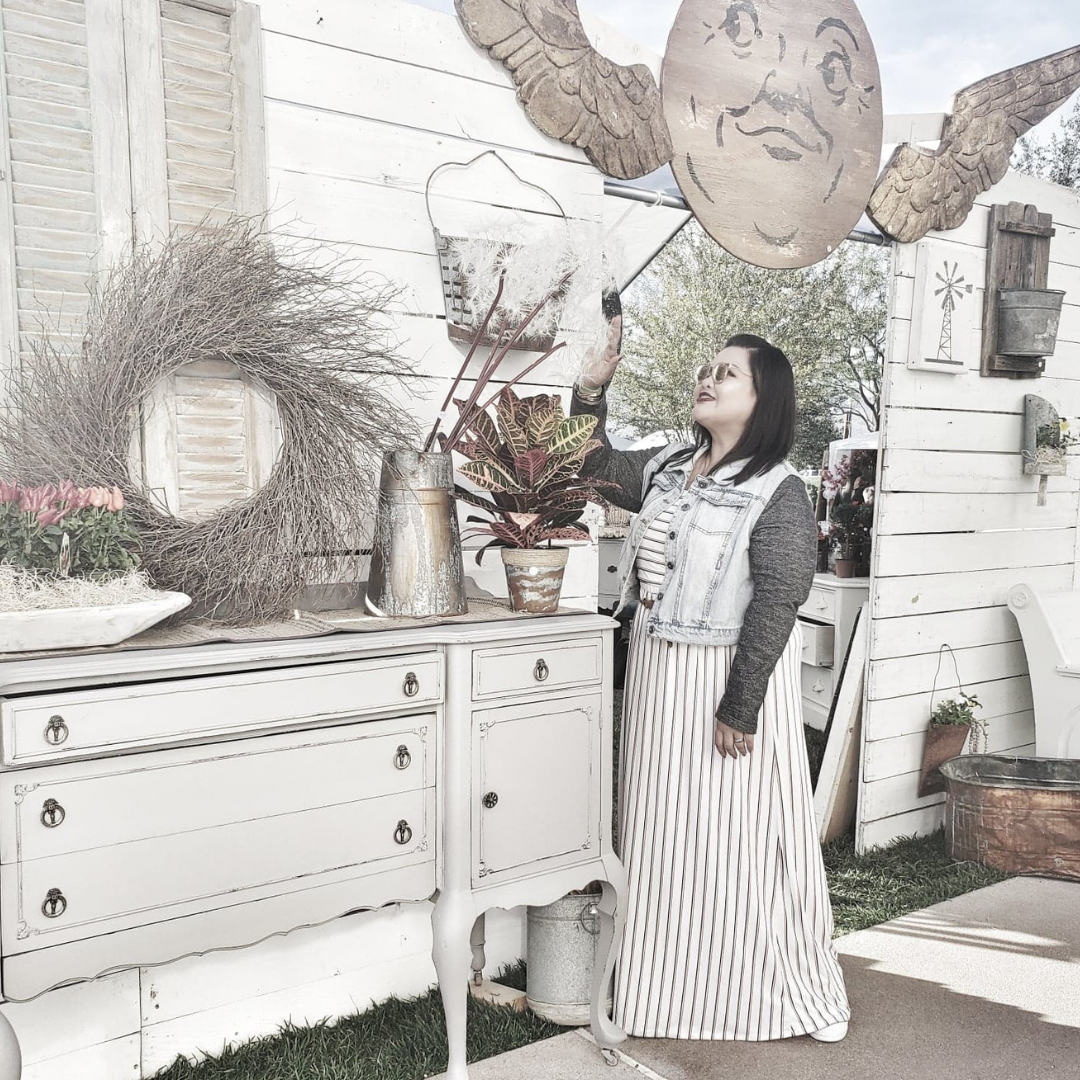 shopping at a Vintage Market in Downtown Summerlin
